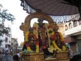 SrI Parthasarathy runshing to bless nambi