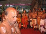 Sri Rangarajan svAmi -ThiruvallikEANi svAmi paying obeisance to JEyar svamis.jpg