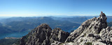 Grigna ridge above Lake Como, Italy