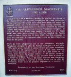 Alexander Mackenzies grave in Avoch, Black Isle