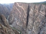 2009 April Black Canyon of the Gunnison -2000ft high painted wall