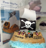 Pirate cake in pirate country