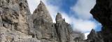 Via Ferrata trails in the mountains
