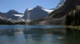Sunburst Lake swim