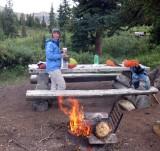 Boulder Creek camp