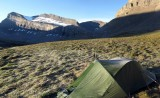 Waterfall Basin camp