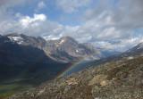 Rainbow over Jonas Creek