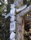 Totem below Nub Peak