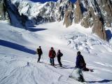 valleeblanch upper glacier