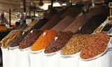 Dried fruit stall at the Fna