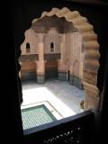 Medersa Ali Ben Yussuf view from a room 2