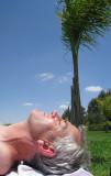 Oasiria sunbathing