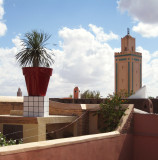 View from the Riad roof