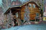 Vermont Cabin in December