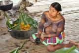 Panama Indian Village Cook