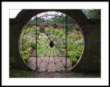 Spider garden gate