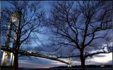 Verrazano Bridge at sunset...