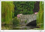 Stone bridge in Beacon Hill Park. Victoria