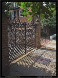 Ornate gate