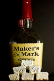 Marker's Mark Bourbon Whisky Marshmallows