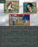 Kienzle calendar green