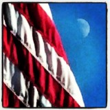266:366Red White & Moon