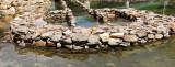 Ancient (and still functioning) fish trap, Huahine