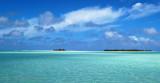 Inside the lagoon, Aitutaki