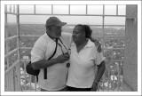 Mom & Dad on Topof The Masonic Temple