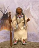 OLD EAGLE WOMAN  (SOLD)