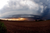 Supercell with Fisheye Lens