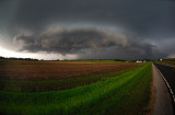 Approaching Gust Front