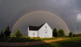 Rainbow over Mt. Zion Church