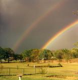 Vintage Rainbow Photo