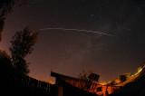 ISS Over Missouri Observatory