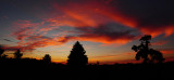 Missouri Sunset Panorama
