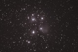 THE PLEIADES (Monochrome Crop)