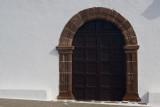 the door (church in Femes)