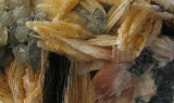 Cerussite/Barite/Galena Detail