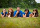 Lucie, Sylvain et les filles