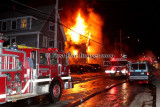 Southbridge MA - 4 Alarm Structure fire, 24 North St. - February 18, 2009