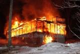 Charlton MA - Structure fire, 54 Daniels Rd. - February 3, 2008
