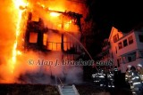 Southbridge MA - Structure fire, 83 Cliff St. - March 12, 2008