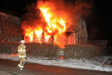 Webster MA - Structure fire; 39 Lincoln St. - January 9, 2011