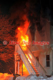 Webster MA - Structure fire, Occupied dwelling; 9 Prospect St. - February 4, 2011
