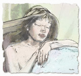 Sleeping mermaid by Wendy - December  2010