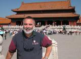 Kim at Forbidden City