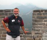Kim at the Great Wall