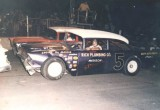 Paul Fatboy Ryman in the 5 car