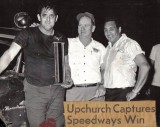 Sonny Upchurch  & Tony Formosa Sr. Fairgrounds Speedway Win.